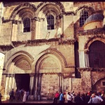 The Church of the Holy Sepulcher.